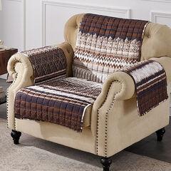 Southwest Latte Furniture Protector, Loveseat, LATTE