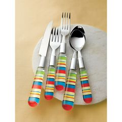 Santa Fe Striped 20-Pc. Flatware Set, SANTA FE STRIPE