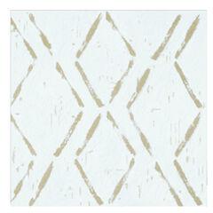 Retro 12x12 Self Adhesive Vinyl Floor Tile - Diamond - 20 Tiles/20 sq. ft., TAN