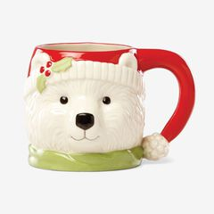 Lenox Holiday Mugs, POLAR BEAR