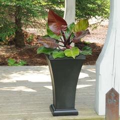 Mayne® Bordeaux Tall Planter, BLACK