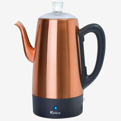 Euro Cuisine 12-Cup Percolator, COPPER