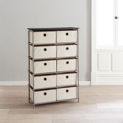 Eve 10-Drawer Storage, NATURAL