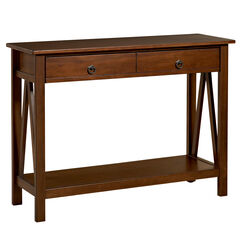Titian Console Table , ANTIQUE TOBACCO
