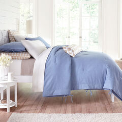 Ira Comforter, CHAMBRAY BLUE
