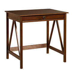 Titian Laptop Desk, ANTIQUE TOBACCO