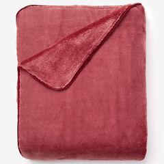 Plush Blanket, CARNATION