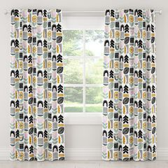 Helsinki Block Blackout Curtain, LAVENDER