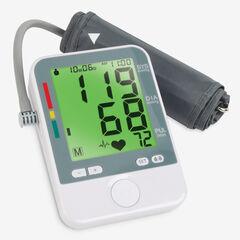 Large Display Blood Pressure Monitor, WHITE