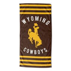 Wyoming Stripes Beach Towel, MULTI