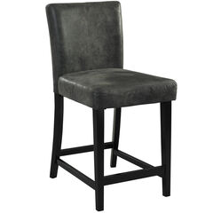 Morocco Stool, CHARCOAL BLACK
