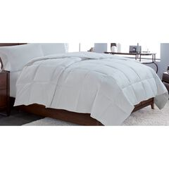 Down Comforter Warmth & Joy, WHITE