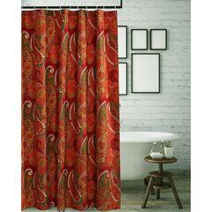 Tivoli Cinnamon Shower Curtain , CINNAMON