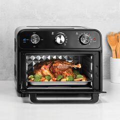 Kalorik® 22 Quart Air Fryer Toaster Oven, BLACK