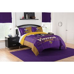 COMFORTER SET DRAFT-VIKINGS, MULTI