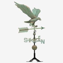 Copper Eagle Weathervane, VERDIGRIS