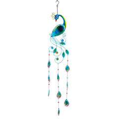 Peacock Wind Chime, MULTI