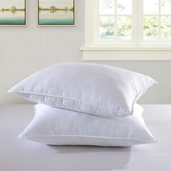 Nuloft™ Twin Pk Down Alternative Embossed Stripe Pillow, WHITE