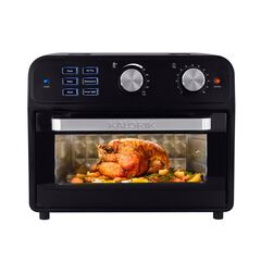 Kalorik® 22 Quart Digital Air Fryer Toaster Oven, BLACK