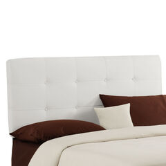 "Queen Size, 62""Lx4""Wx51-54""H, WHITE"