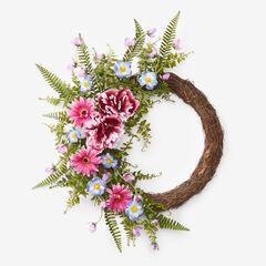 "18"" Melody Wreath, PURPLE"