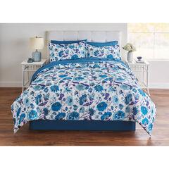BH Studio Elina 8-PC. Comforter Set, BLUE FLORAL
