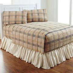 Bed Tite™ Flannel Sheet Set, NATURAL PLAID