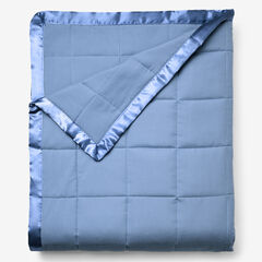 Down-Alternative Blanket, MEDIUM BLUE