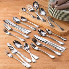 46-Pc. Flatware Set, STAINLESS