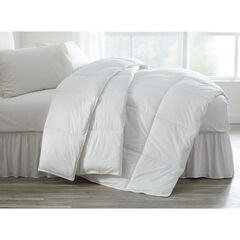 Coolmax Anti-Bacterial Comforter, WHITE