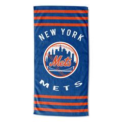 Mets Stripes Beach Towel, MULTI