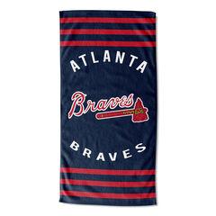 Braves Stripes Beach Towel, MULTI