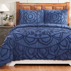 Cleo Comforter Set Collection, NAVY