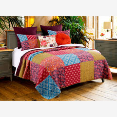 Normandy Quilt Set , BROWN