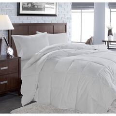 White Goose Down Comforter, WHITE