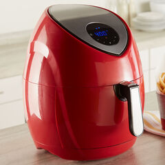 4.2-Qt. Air Fryer, RED