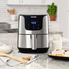 Stainless Steal XL Smart Fryer Pro with Trivet , STAINLESS STEEL