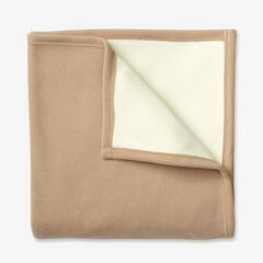 BH Studio® Reversible Fleece Blanket, TAUPE
