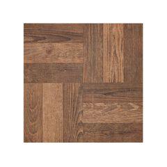 "Portfolio 12"" x 12"" 2.0mm Self Adhesive Vinyl Floor Tile - 9 Tiles/9 sq. ft., WALNUT"