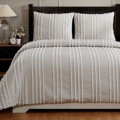 Winston Comforter Set Collection, TAUPE