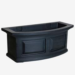 Mayne® Nantucket 2' Window Box, BLACK