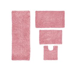 Fantasia 4-Pc. Bath Rug Set, PINK