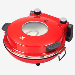Kalorik Hot Stone Pizza Oven, RED