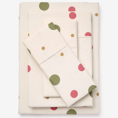 Bed Tite™ Flannel Sheet Set, MAUVE DOTS