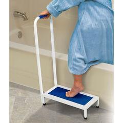 Non-Slip Bath Step, WHITE BLUE