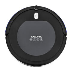Kalorik Home Ionic Pure Air Robot Vacuum, Black and Gray, STAINLESS STEEL