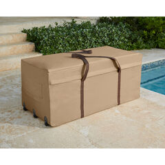 Cushion Storage Bag with Wheels, TAUPE