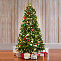 7½'H Fraser Fir Tree, GREEN