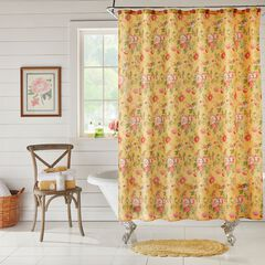 13-Pc. Harvest Shower Curtain Set, VINTAGE FLORAL