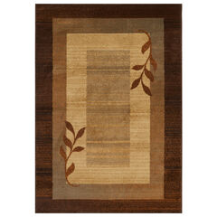 "Royalty Rug 5'2"" x 7'2"", BROWN BLUE"